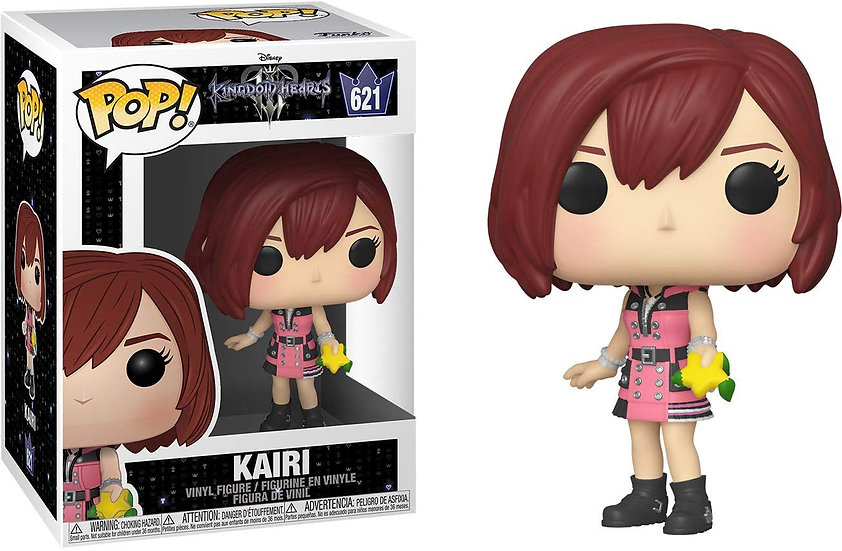 Pop! Disney Kingdom Hearts Vinyl Figure Kairi (with Hood) #621