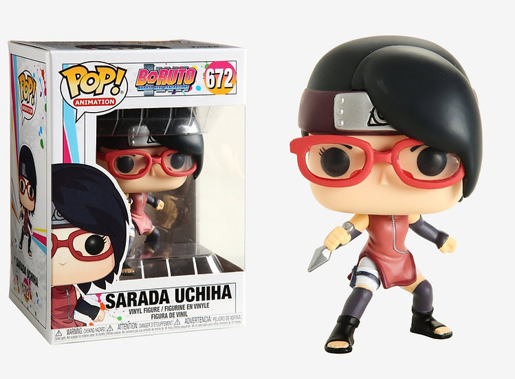 Funko Pop! Animation: Boruto - Sarada Uchiha #672
