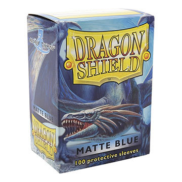 Dragon Shields: Matte Card Sleeves (100): Blue