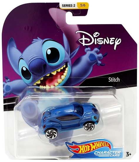 Disney Hot Wheels Character Cars Series 4 Stitch Die Cast Car