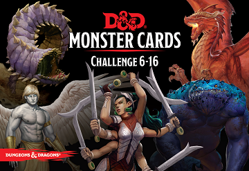Dungeons & Dragons (5th Ed.): MONSTER CARDS: CHALLENGE 6-16