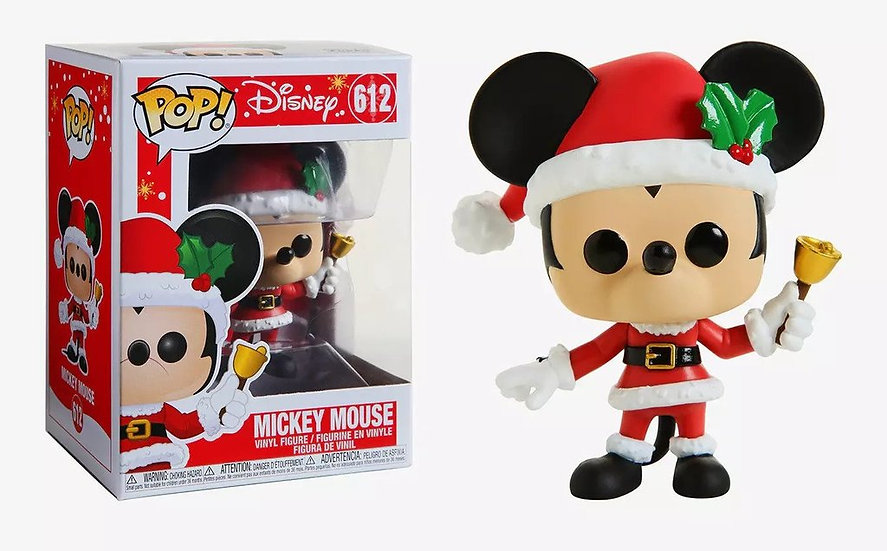 Pop! Disney Holiday Vinyl Figure Mickey Mouse #612