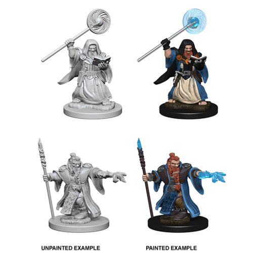 Dungeons & Dragons Nolzur's Marvelous Miniatures: Dwarf Wizard (Male)