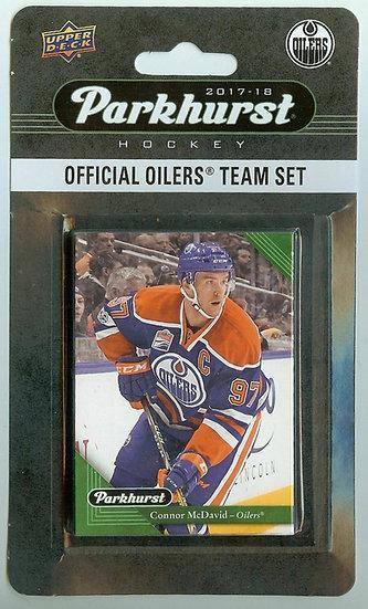 2017-18 Parkhurst Edmonton Oilers 10 Card Team Set