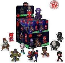 Funko Mystery Minis Spider-Man Into The Spiderverse Blind Box