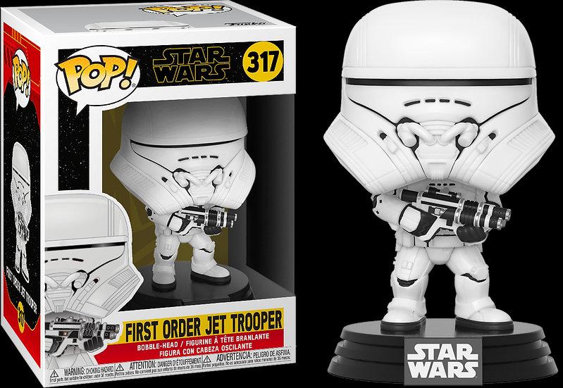 Pop! Star Wars The Rise of Skywalker  Figure First Order Jet Trooper #317