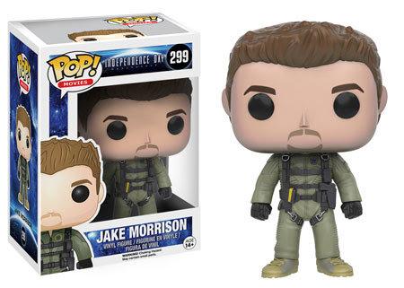 Pop! Movies Independence Day Resurgence Vinyl Figure Jake Morrison #299 Vaulted