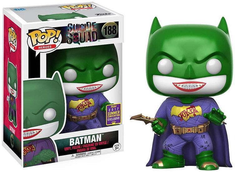 Pop! Heroes Suicide Squad Vinyl Figure Batman (Joker) #188