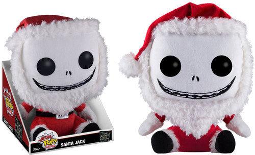 Funko Nightmare Before Christmas Santa Jack Mega Pop! Plush