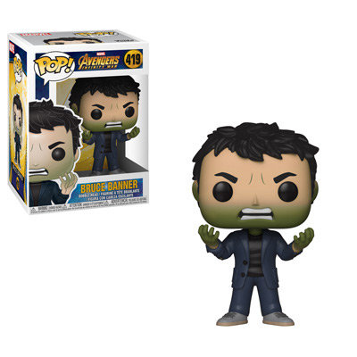 Pop! Marvel Avengers Infinity War Vinyl Bobble-Head Bruce Banner #419