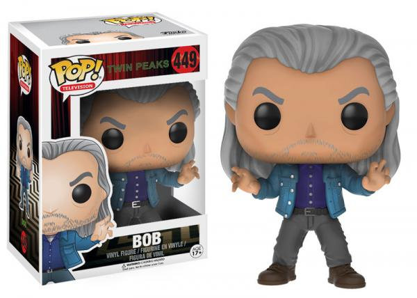 Pop! Television Twin Peaks Vinyl Figure Bob #449