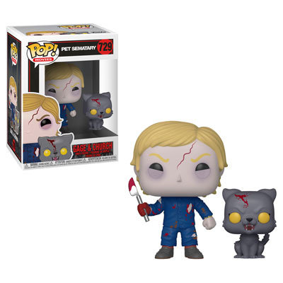 Pop! Movies Pet Sematary Vinyl Figure Gage & Church #729