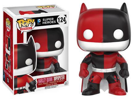 Pop! Heroes DC Impopster Vinyl Figure Batman as Harley Quinn #124