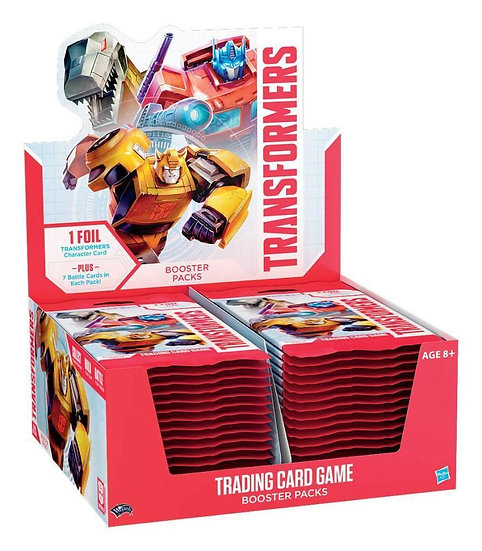 Transformers Season 1 Trading Card Game Booster Box 30 Packs