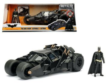 2008 The Dark Knight Tumbler with diecast Batman Figure 1/24 Diecast Model
