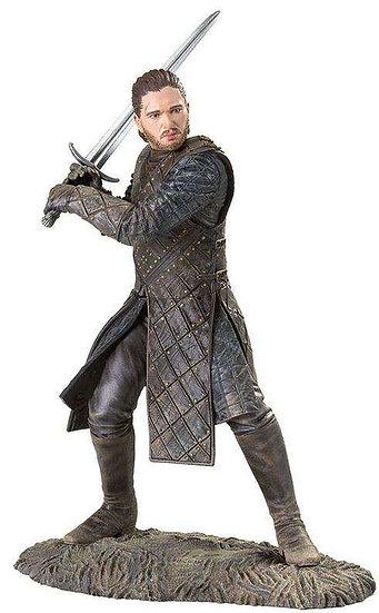 Game of Thrones Jon Snow 8-Inch PVC Statue Figure [Battle of the Bastards]