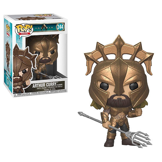 Pop! Heroes Aquaman Vinyl Figure Arthur Curry as Gladiator #244