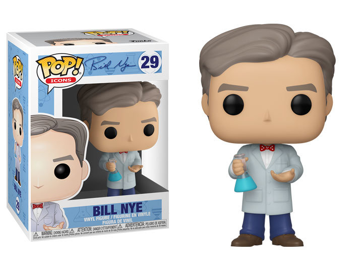 Pop! Icons Bill Nye Vinyl Figure Bill Nye #29