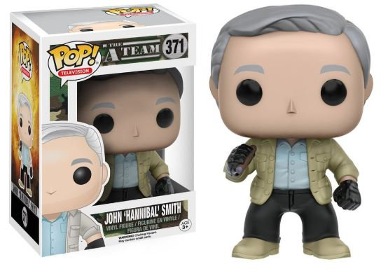 Pop! Television A-Team Vinyl Figure John 'Hannibal' Smith #371 (Vaulted)
