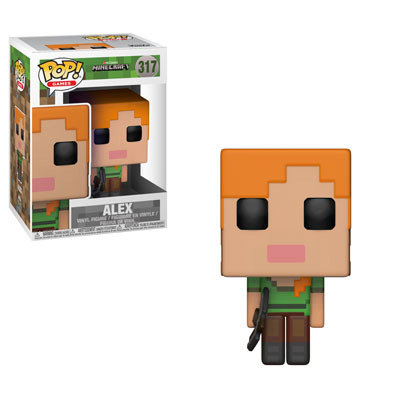Pop! Games Minecraft Vinyl Figure Alex #317 (Vaulted)