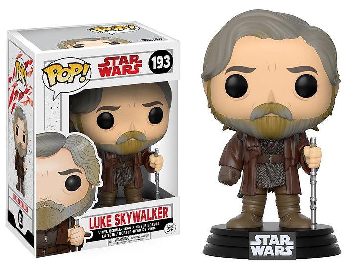 Pop! Star Wars The Last Jedi Vinyl Bobble-Head Luke Skywalker #193