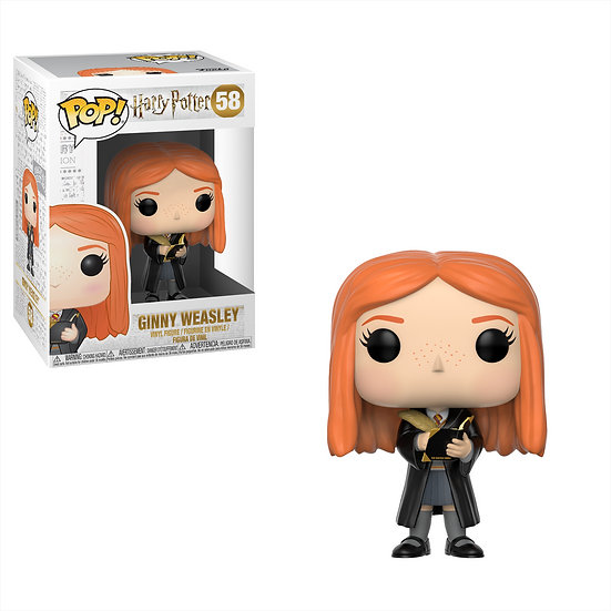 Pop! Harry Potter Vinyl Figure Ginny Weasley (with Diary) #58