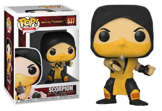 Pop! Games Mortal Kombat Vinyl Figure Scorpion #537