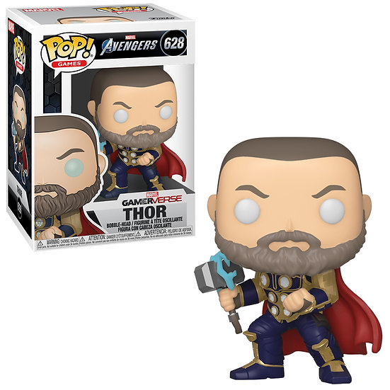 Pop! Games Marvel Avengers Vinyl Bobble-Head Thor #628