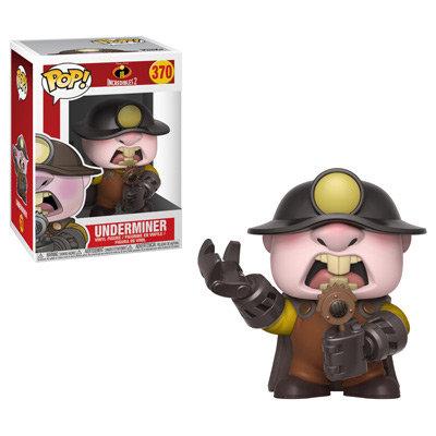 Pop! Disney Incredibles 2 Vinyl Figure Underminer #370
