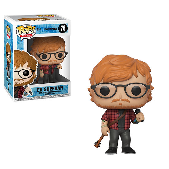 Pop! Rocks Vinyl Figure Ed Sheeran #76