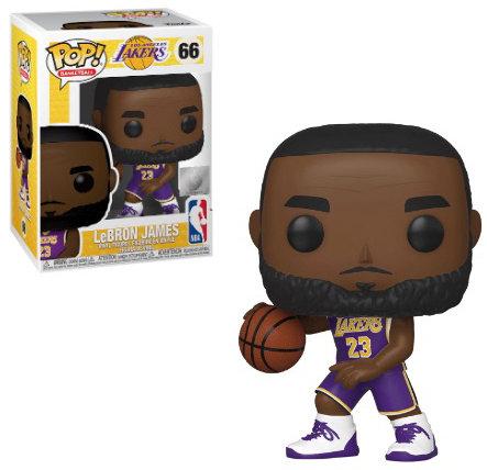Pop! Basketball NBA Vinyl Figure LeBron James (Los Angeles Lakers) #66