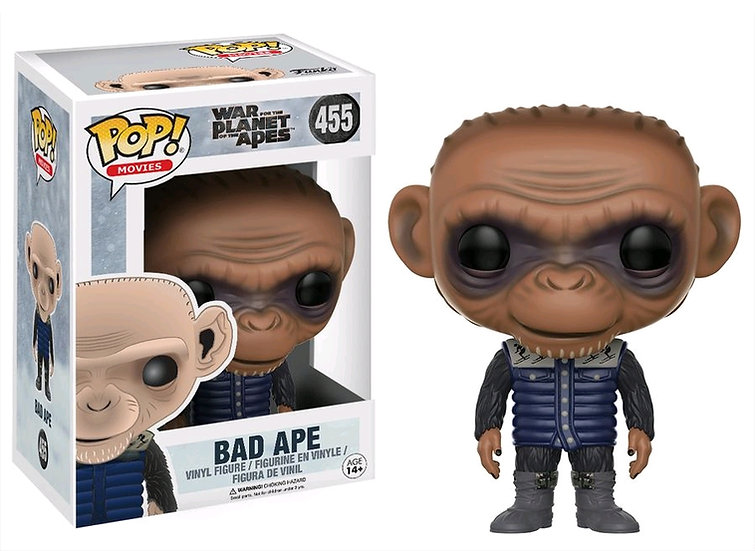 Pop! Movies War for the Planet of the Apes Vinyl Figure Bad Ape #455