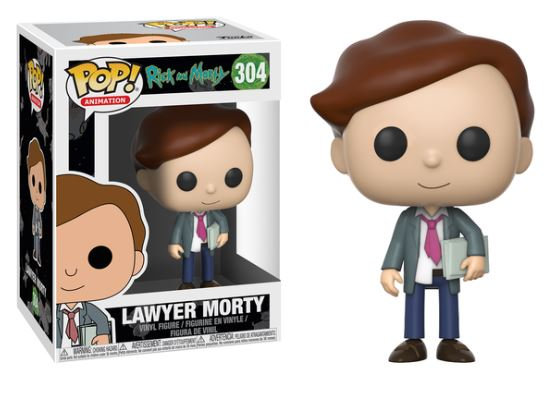 Pop! Animation Rick and Morty Vinyl Figure Lawyer Morty #304
