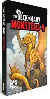 Dungeons & Dragons (5th Ed.): DECK OF MANY: MONSTERS 4