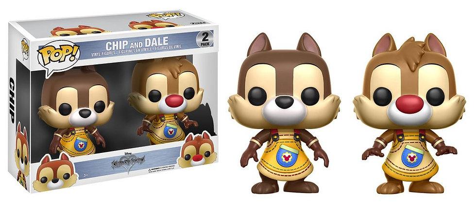 Pop! Disney Kingdom Hearts Vinyl Figures 2-Pack Chip & Dale