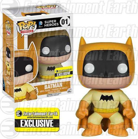 Pop! Heroes DC Super Heroes Vinyl Figure Yellow Rainbow Batman #01 EE