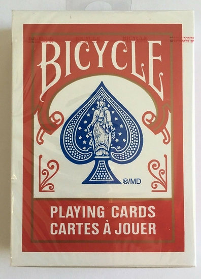Bicycle Playing Cards: Standard Poker Cards - Red