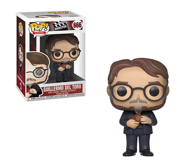 Pop! Movie Director Vinyl Figure Guillermo del Toro #666