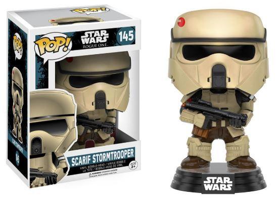 Pop! Star Wars Rogue One Vinyl Bobble-Head Figure Scarif Stormtrooper #145