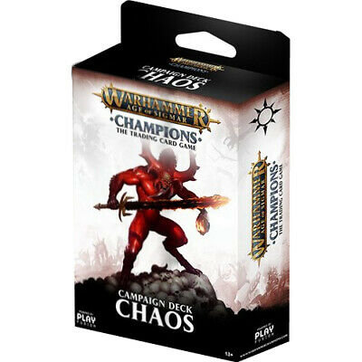 Age of Sigmar : Champions - Chaos Campaign Deck