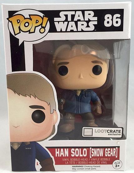 Funko Pop Han Solo (Snow Gear) Loot Crate Exclusive #86