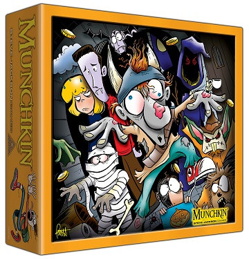 Munchkin: Halloween Monster Box