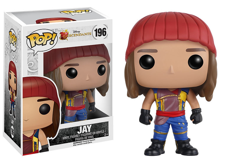 Pop! Disney Descendants Vinyl Figure Jay #196 (Vaulted)