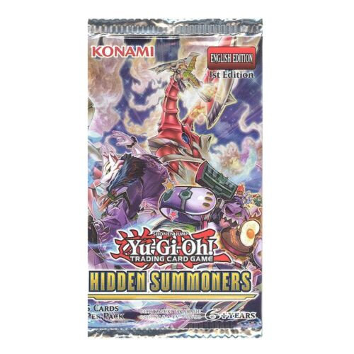 Yu-Gi-Oh! Hidden Summoners - Booster Pack