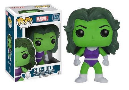 Pop! Marvel Vinyl Bobble-Head She-Hulk #147 (Vaulted)