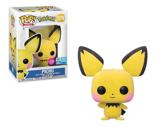 Pop! Games Pokemon Vinyl Figure Pichu (Flocked) #579