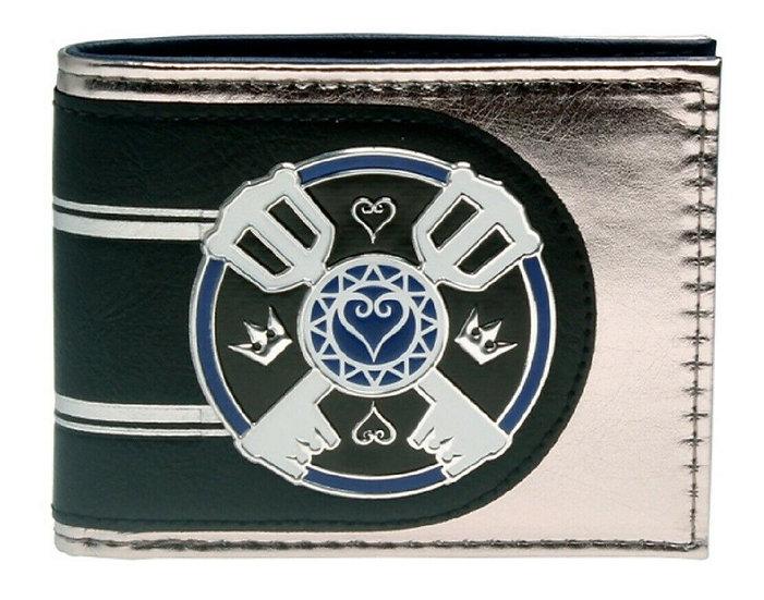 Bioworld Kingdom Hearts Keyblades Bifold Wallet