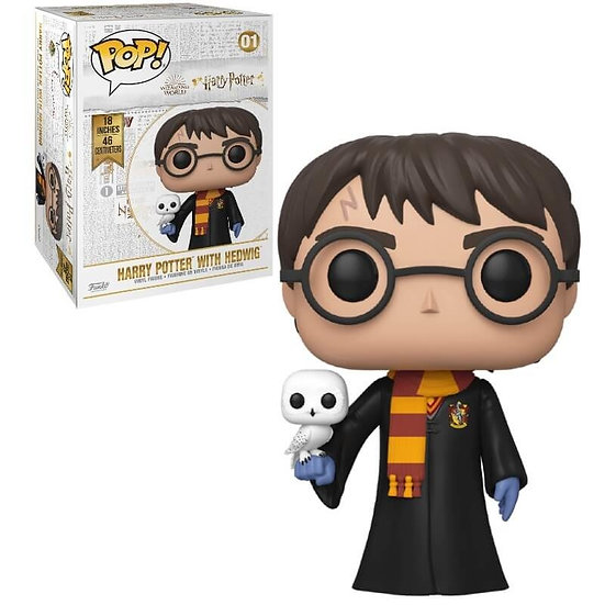 "Pop! Harry Potter Vinyl Figure 18"" Harry Potter with Hedwig #01"