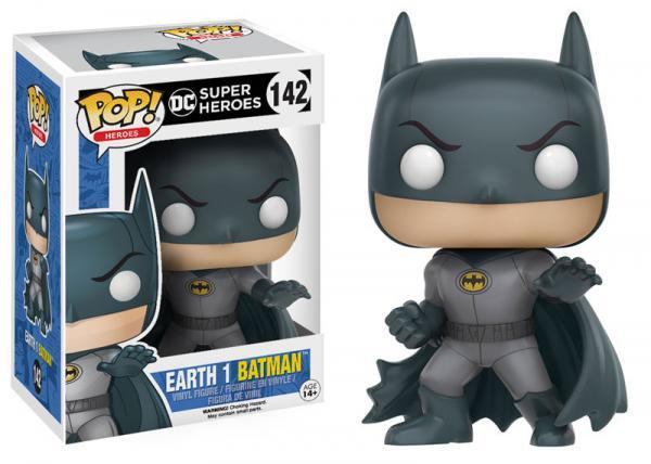 Pop! Heroes DC Vinyl Figure Earth 1 Batman #142 (Vaulted)