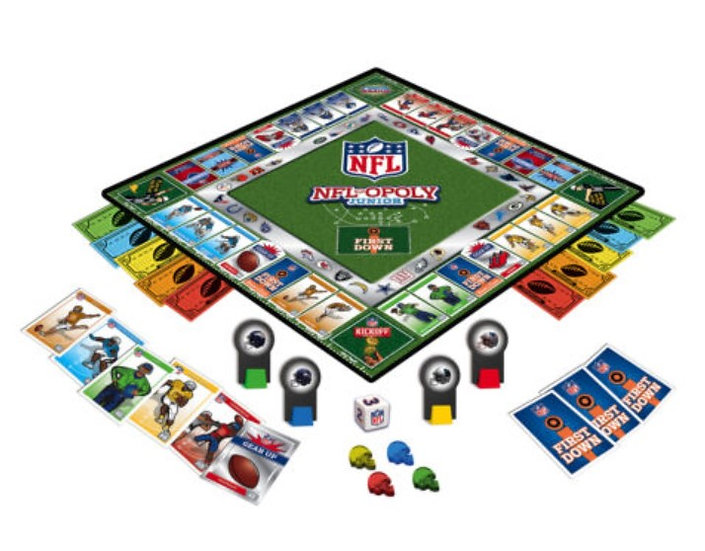 MasterPieces - NFL Opoly Junior Game